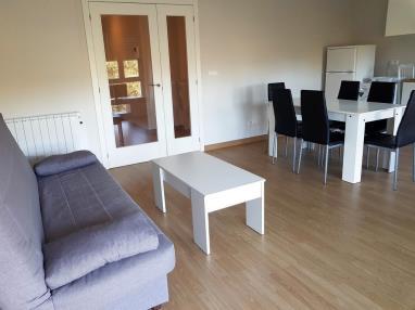 Salón comedor España Galicia - Rías Bajas Ribeira Apartamentos Ribeira 3000