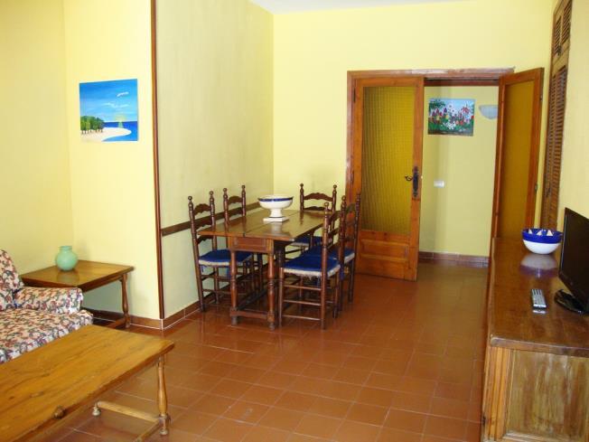 Salón comedor Apartamentos Arcos de las Fuentes 3000 Alcoceber