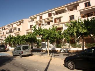 Façade Winte Espagne Costa del Azahar ALCOSSEBRE Appartements Arcos de las Fuentes 3000
