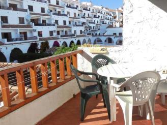 Terraza España Costa Azahar Alcoceber Apartamentos Arcos de las Fuentes 3000