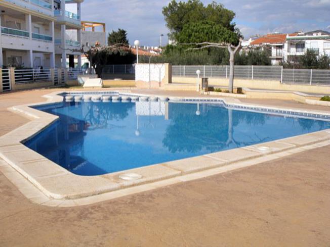 Piscina Apartamentos Punta Canaret 3000 Alcoceber