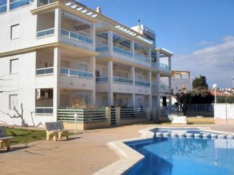 Piscina España Costa Azahar Alcoceber Apartamentos Punta Canaret 3000