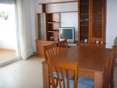 Salón comedor España Costa Azahar Alcoceber Apartamentos Punta Canaret 3000