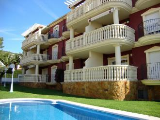Façade Winte Espagne Costa del Azahar ALCOSSEBRE Appartements Madeira 3000