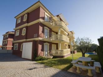 Fachada Invierno España Costa Azahar Alcoceber Apartamentos Madeira 3000