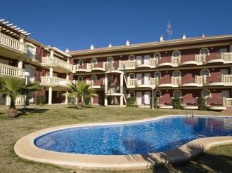 Fachada Verano España Costa Azahar Alcoceber Apartamentos Madeira 3000