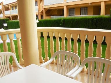 Terraza España Costa Azahar Alcoceber Apartamentos Madeira 3000