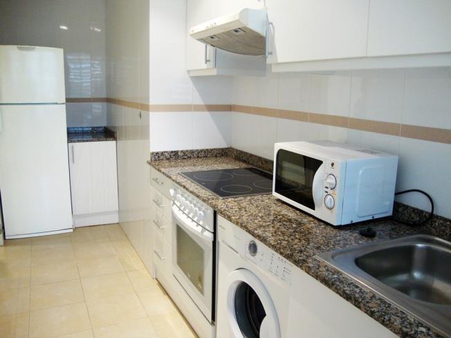 Kitchen Appartements Alcala Blau 3000 ALCOSSEBRE