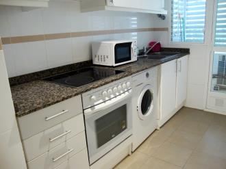 Kitchen Espagne Costa del Azahar ALCOSSEBRE Appartements Alcala Blau 3000