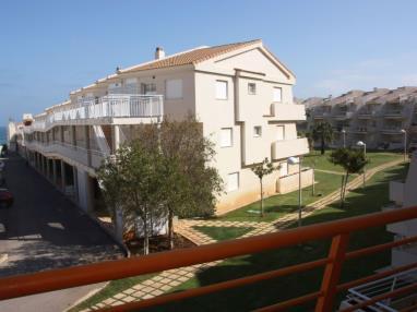 Fachada Invierno España Costa Azahar Alcoceber Apartamentos Alcalá Blau 3000