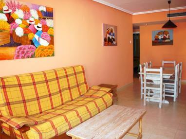 Salón España Costa Azahar Alcoceber Apartamentos Alcalá Blau 3000