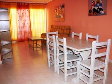 Salón comedor España Costa Azahar Alcoceber Apartamentos Alcalá Blau 3000