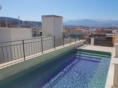 Piscina Apartamentos Trinidad Deluxe 3000 Granada