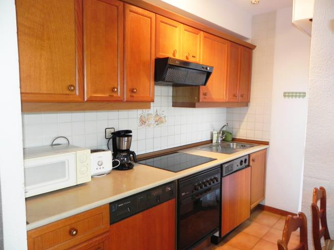 Kitchen Appartements Jaca 3000 JACA