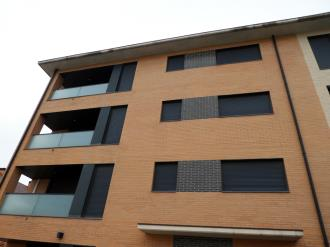 Façade Winte Espagne Pyrenées Aragonaises JACA Appartements Jaca 3000