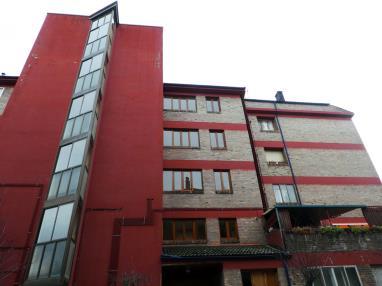 Fachada Invierno España Pirineo Aragonés Jaca Apartamentos Jaca 3000