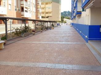 Fachada Verano España Costa Azahar Oropesa del mar Apartamentos Mar de Oropesa 3000