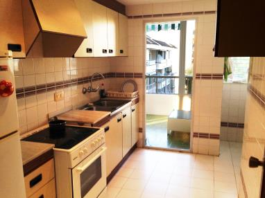 Kitchen Appartements Gandia Low Cost sin piscina 3000 GANDIA
