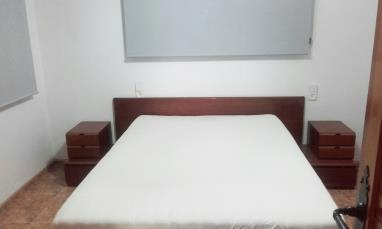 Dormitorio España Costa de Valencia Gandia Apartamentos Gandia Low Cost sin piscina 3000