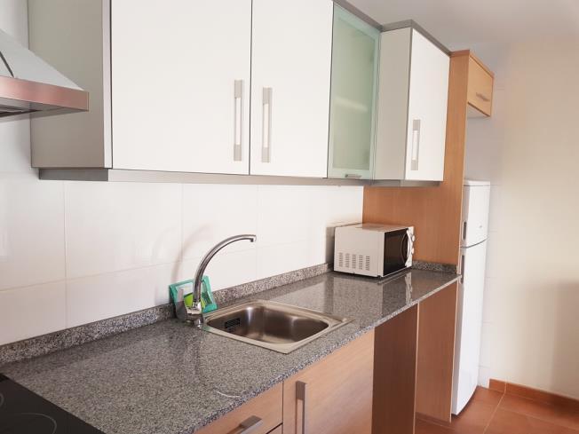 Cocina Apartamentos Benicarlo Centro 3000 con piscina Benicarlo