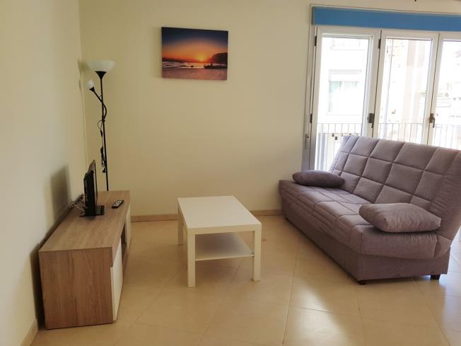 Salón Apartamentos Benicarlo Centro 3000 con piscina Benicarlo