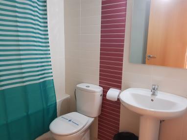 Baño Apartamentos Benicarlo Centro 3000 con piscina Benicarlo