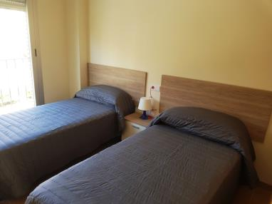 Dormitorio España Costa Azahar Benicarlo Apartamentos Benicarlo Centro 3000 con piscina