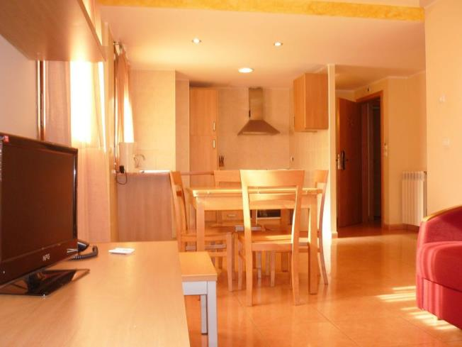 Sala de estar Apartamentos Ordino 3000