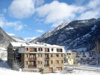 Façade Winte Andorre Vallnord ARANS Appartements Ordino 3000