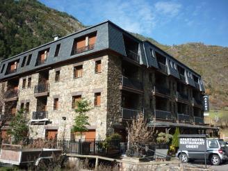 Façade Summer Andorre Vallnord ARANS Appartements Ordino 3000