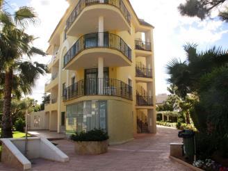 Fachada Invierno España Costa Azahar Alcoceber Apartamentos Sol y Mar 3000