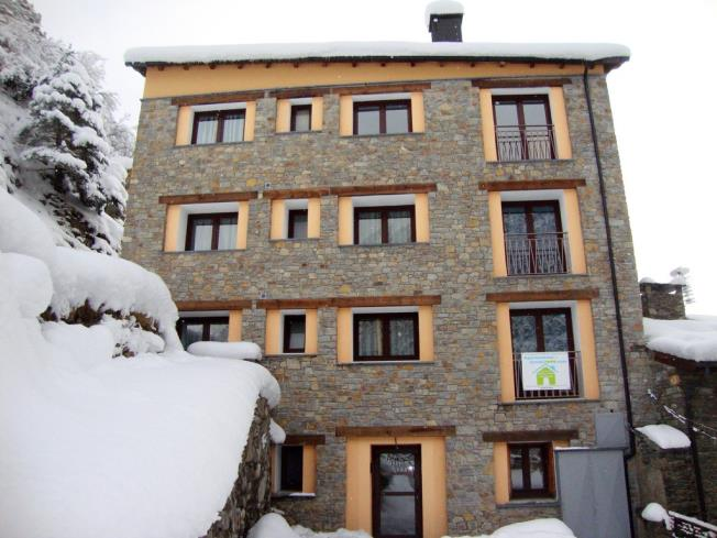 Façade Winte Appartements Arinsal 3000 LA MASSANA