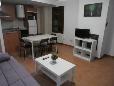 Salón comedor España Pirineo Aragonés Biescas Apartamentos Gavin Biescas 3000