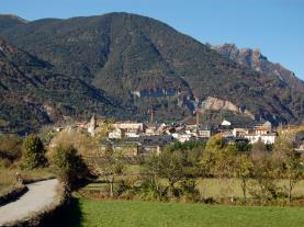 Paisaje Alto Gállego  España Pirineo Aragonés