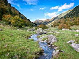 Paisaje Pirineo  España Pirineo Aragonés
