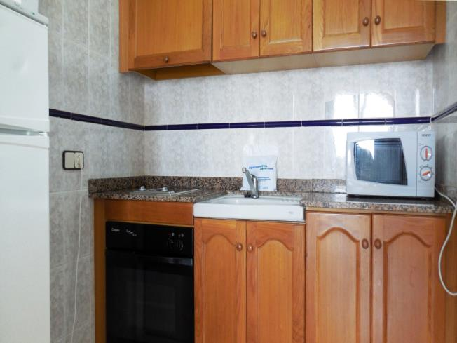 Kitchen Appartements Gardenias 3000 ALCOSSEBRE