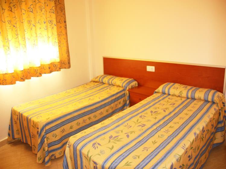 Dormitorio Apartamentos Gardenias 3000 Alcoceber