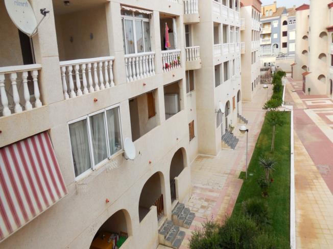 Fachada Verano Apartamentos Gardenias 3000 Alcoceber