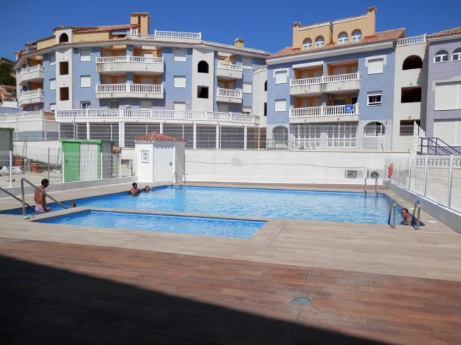 Piscina Apartamentos Gardenias 3000 Alcoceber