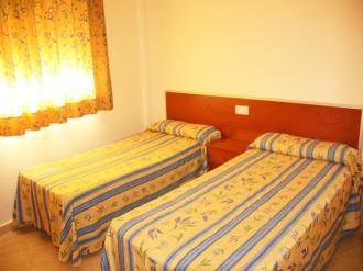 Dormitorio España Costa Azahar Alcoceber Apartamentos Gardenias 3000