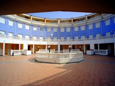 Fachada Verano España Costa Azahar Alcoceber Apartamentos Gardenias 3000
