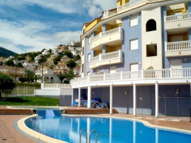 Piscina España Costa Azahar Alcoceber Apartamentos Gardenias 3000