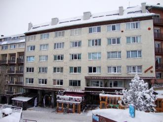 Fachada Invierno Andorra Estación Grandvalira Pas de la Casa Apartamentos Sapporo 3000