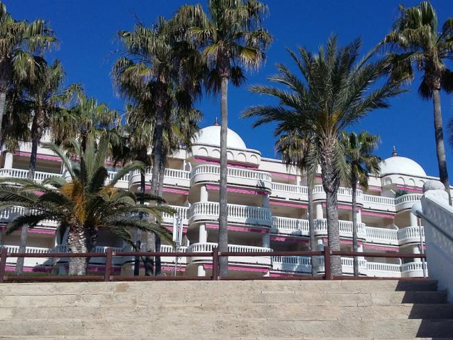 Fachada Verano Apartamentos Casablanca 3000 Alcoceber