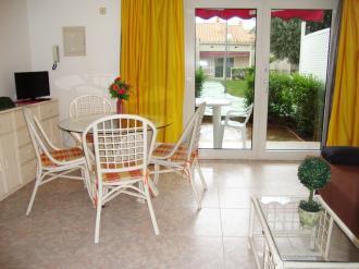 Salón comedor España Costa Azahar Alcoceber Apartamentos Casablanca 3000