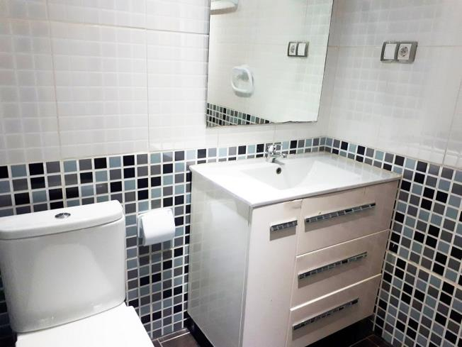 Baño Apartamentos Mistral 3000 Oropesa del mar