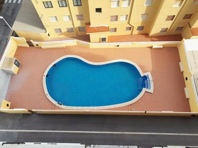 Piscina Apartamentos Mistral 3000 Oropesa del mar