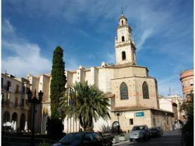 Colegiata Gandía Gandia Costa de Valencia España