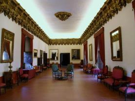 Interior Palaco GANDIA Costa di Valencia Spagna