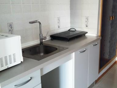 Cocina Apartamentos Bernat Pie de Playa 3000 Oropesa del mar